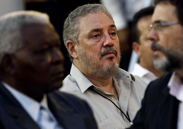 Fidel Castro Díaz-Balart, hijo de Fidel Castro