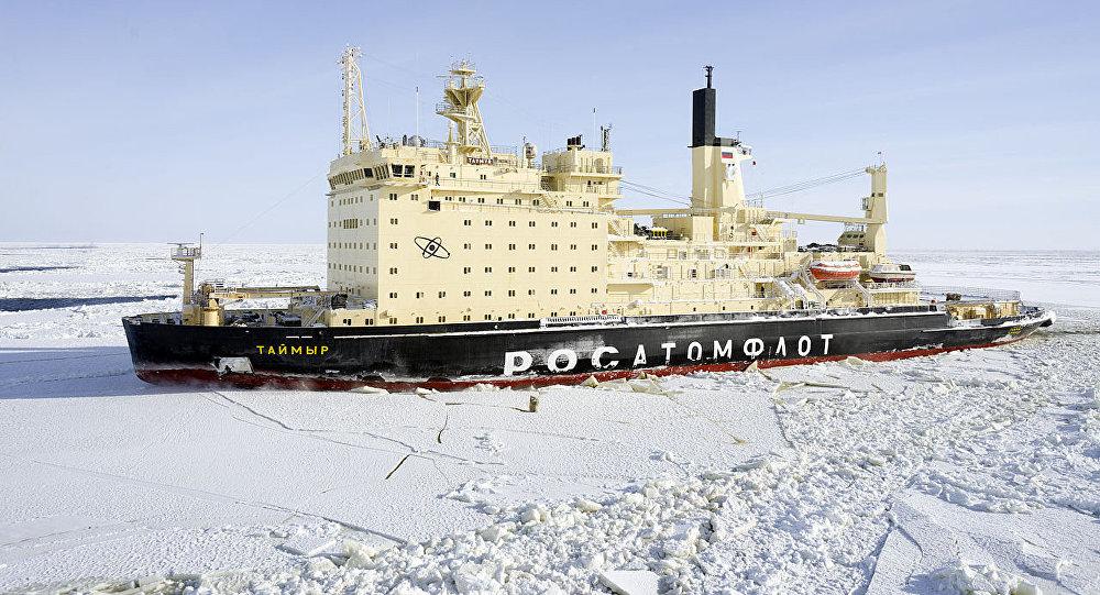 Nuclear-powered icebreaker Taymyr