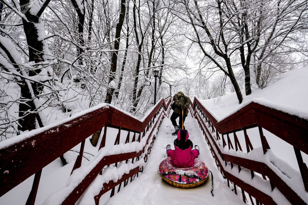 Blizzard of the Century': Snow Apocalypse in Moscow