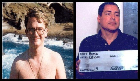 John Haase (pictured, right), got a gun smuggled into prison and then pointed the finger at Thomas Bourke (left)
