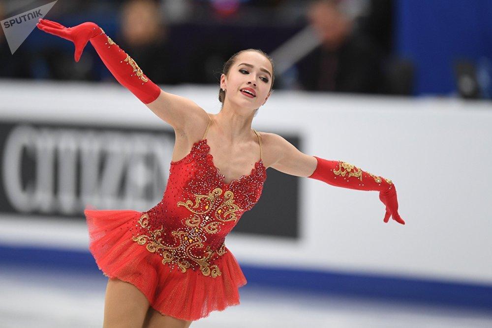 European Figure Skating Championships. Women's free skating