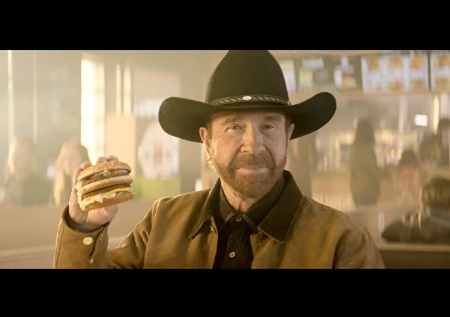 Hesburger is Chuck Norris approved