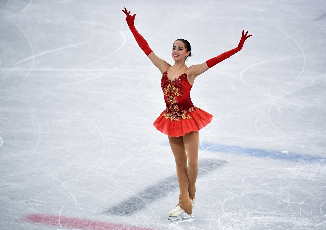 Russian figure skater Alina Zagitova's free program at 2018 Winter Olympics