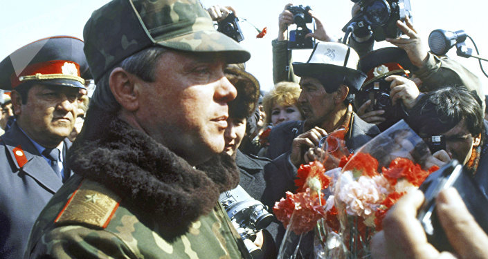 Lieutenant General Boris Gromov, commander of the restricted contingent of Soviet troops in Afghanistan