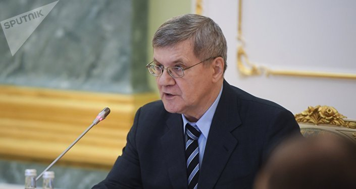 Prosecutor General Yury Chaika. File photo