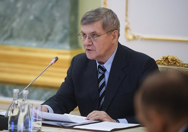 Prosecutor General Yury Chaika. File photo