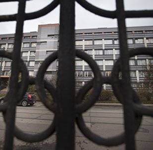 In this Friday, Nov. 13, 2015, file photo a car stands is front of Russia's national drug-testing laboratory in Moscow, Russia. It was at this laboratory, and its former site elsewhere in Moscow, that lab director Grigory Rodchenkov conducted pioneering research into steroids, at the same time as he says he was giving Russian athletes a cocktail of banned substances.