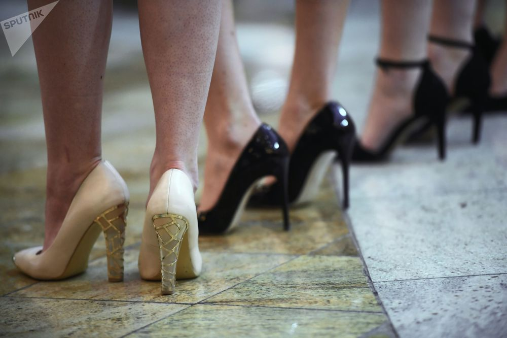 In Heels We Trust: 'Miss Russia' Beauty Pageant Casting