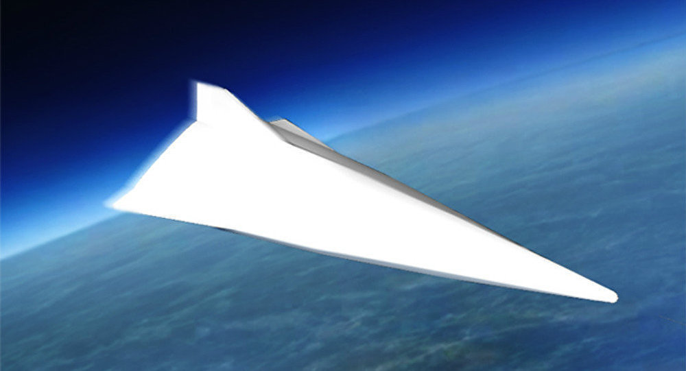 One of the Chinese hypersonic gliding vehicle projects