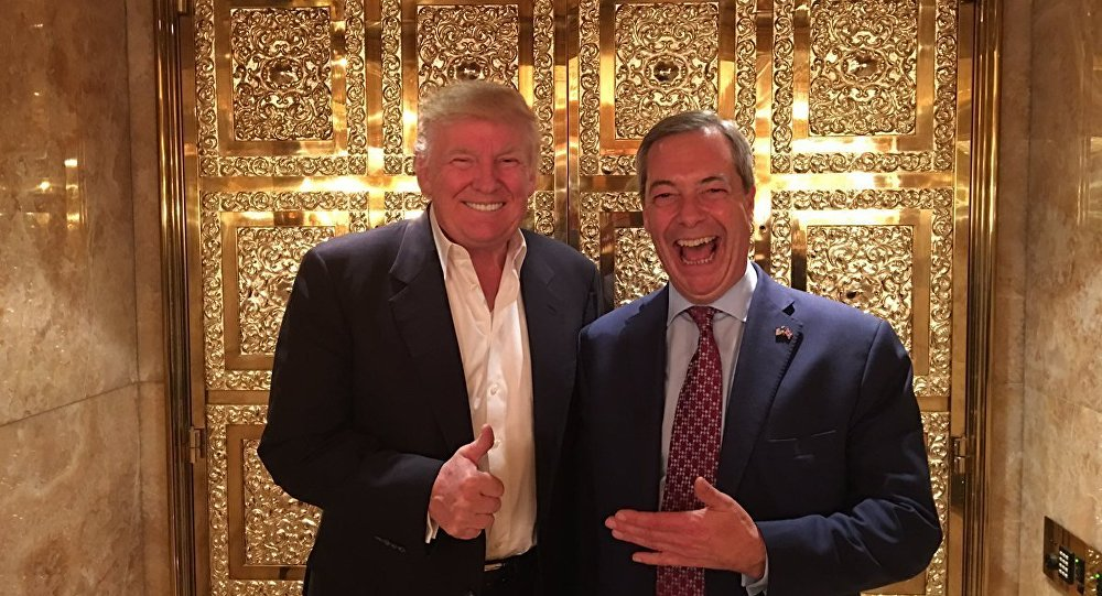 US Special Counsel Mueller Seeks Details on Nigel Farage...