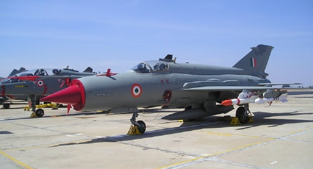 Indian Air Force MiG 21 Crashes In Himalayas Pilot Dead