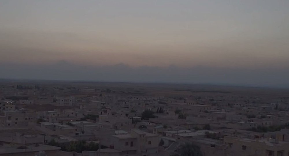 The town of Tell Rifaat in northwestern Syria
