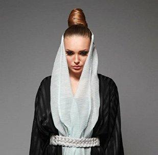 Darina Tkachenko, Russian-Ukrainian model living in Saudi Arabia