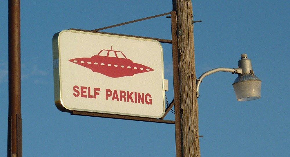 UFO self parking