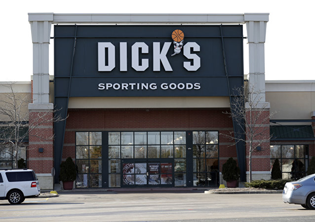 A Dick's Sporting Goods store is seen in Arlington Heights