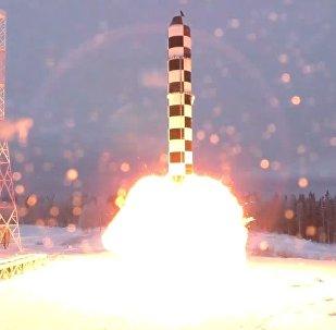 ICBM Sarmat test launch