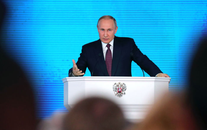 Vladimir Putin: Territorial Integrity, Economic Growth, Multipolarity