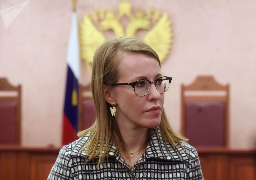 Ksenia Sobchak: 'Against All'