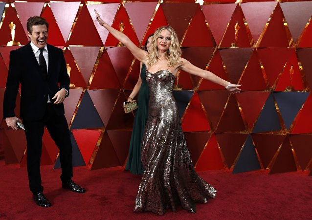 90th Academy Awards - Oscars Arrivals – Hollywood, California, U.S., 04/03/2018 - Jennifer Lawrence