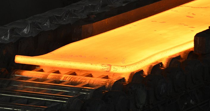 Red hot steel (File)