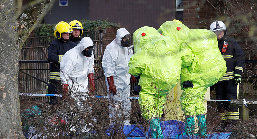 Spy poisoning case: nerve agent could be covertly put in suitcase