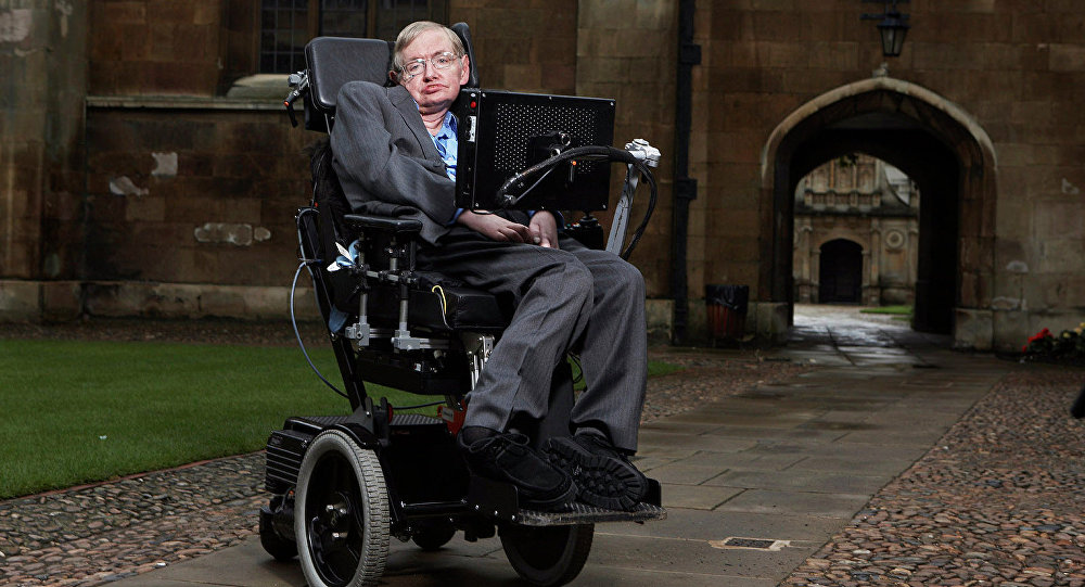 Theoretical physicist Stephen Hawking says that humanity won't make it through the next 1,000 years unless we find a way to leave Earth.