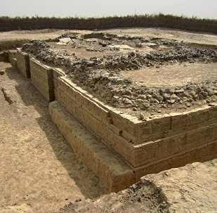 A 5th century Byzantine basilica at Adulis, Eritrea, excavated in 1914 by the Italian archaeologist Roberto Paribeni