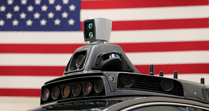 A roof mounted camera and radar system is shown on Uber's Ford Fusion self driving car during a demonstration of self-driving automotive technology in Pittsburgh, Pennsylvania, U.S., September 13, 2016