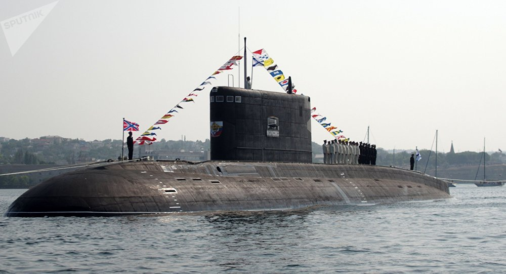 The B-261 Novorossiysk submarine. File photo