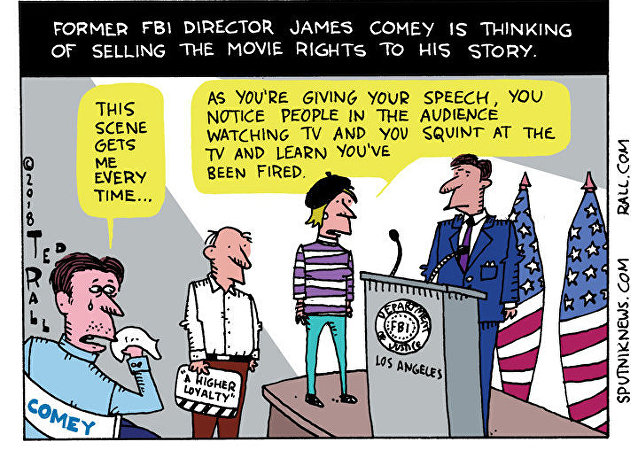 Comey to a Theater Near You?