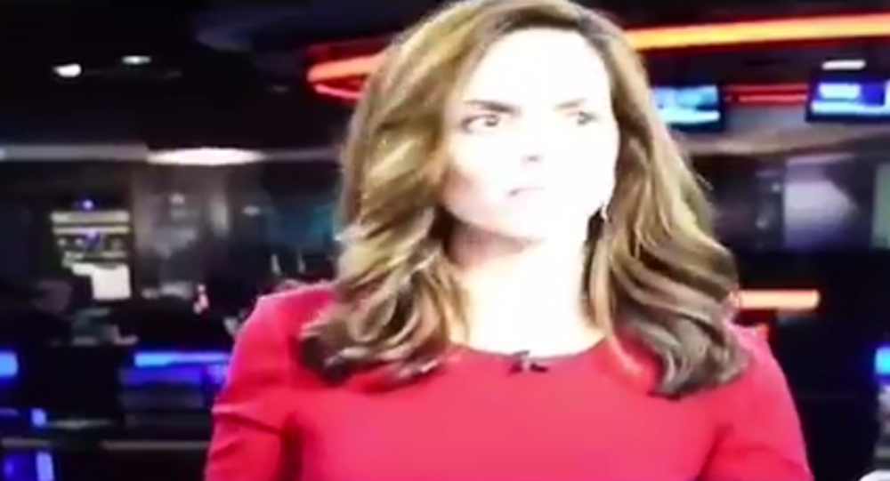 Texas' KRIS-TV news anchor Stephania Jimenez apologizes after vulgar whispers interrupt newscast