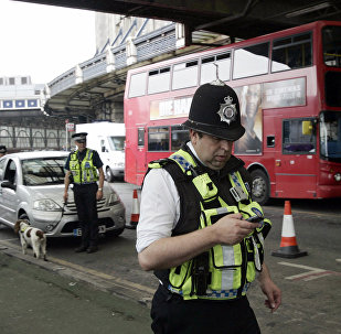 British police officers in London. (File)