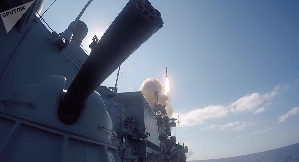 Russian Cruise Missile. (File)