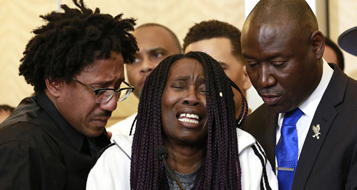 Protests erupt in California after shooting of black man
