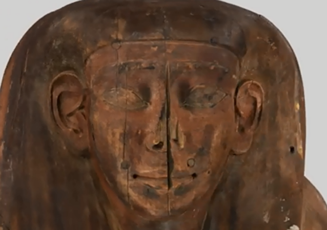 Human remains found inside Egyptian coffin previously thought to be empty