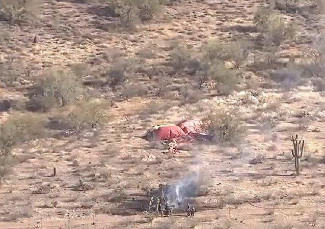 Hot air balloon goes down in Phoenix desert