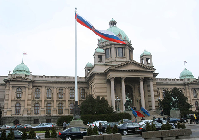 Skupstina (Parliament House) in Belgrade. (File)