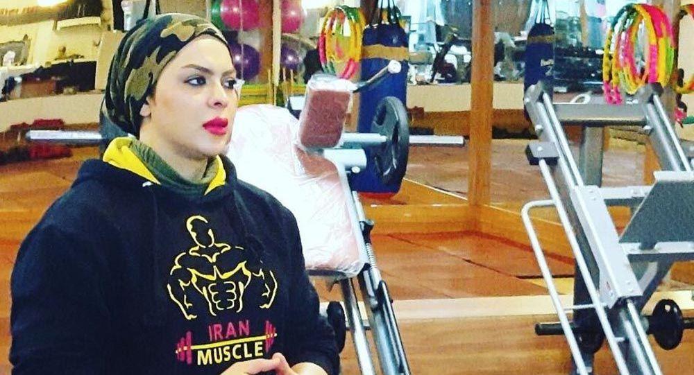 شیرین نوبهاری زن بدنساز ایرانی