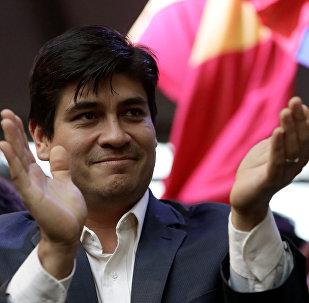 Carlos Alvarado,candidato a la presidencia de Costa Rica