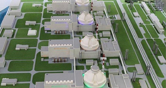 Turkey's first Akkuyu nuclear power plant