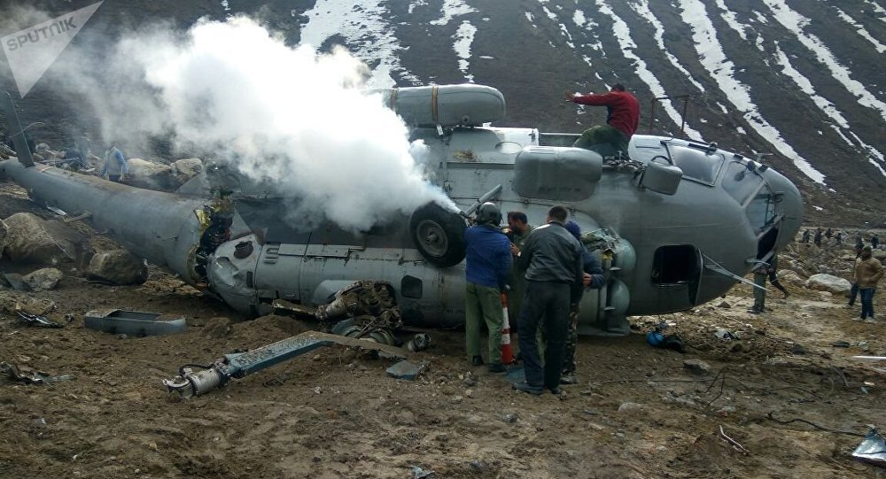 IAF Mi-17 helicopter crashes near Kedarnath, one crew member injured