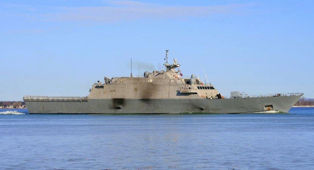 USS Little Rock on March 31, 2018.