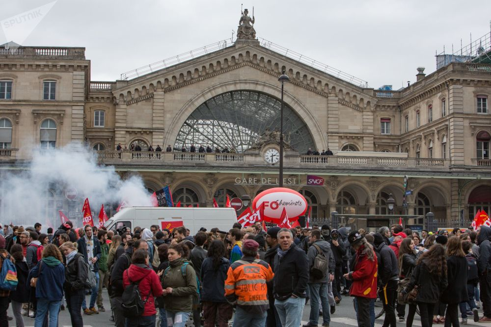 Rage Against the Machine: Railway Workers' Protests in Paris