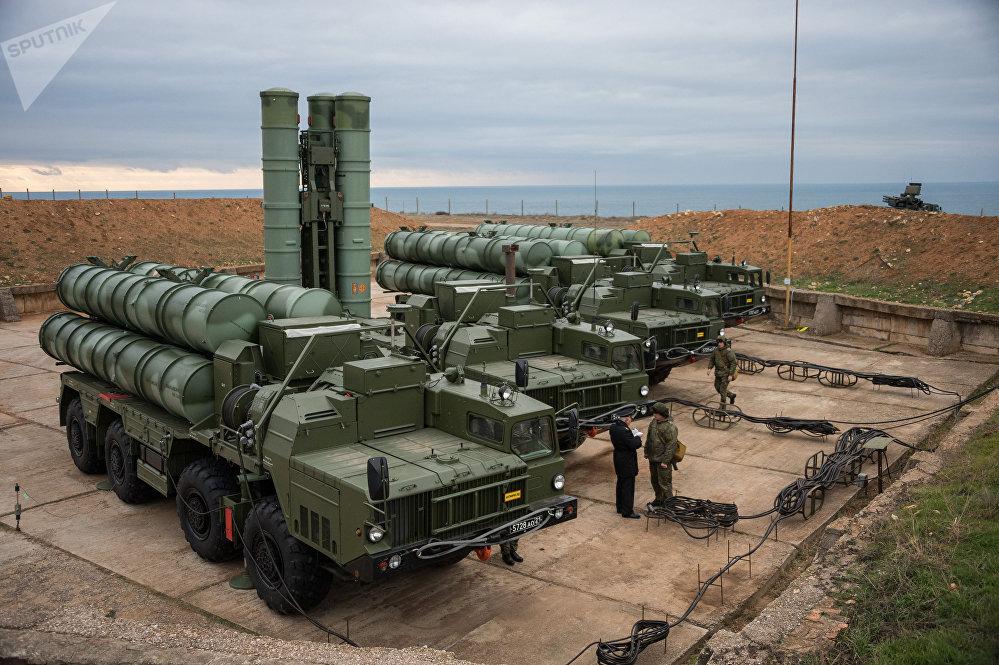 S-400 Triumf anti-air missile system enters service in Sevastopol