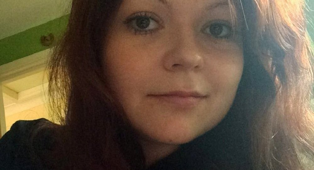 An undated photograph shows Yulia Skripal, daughter of former Russian Spy Sergei Skripal, taken from Yulia Skripal's Facebook account in London, Britain, April 6, 2018