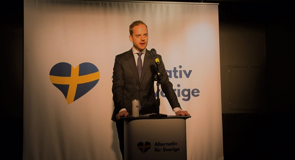 Gustav Kasselstrand, Alternative for Sweden party leader