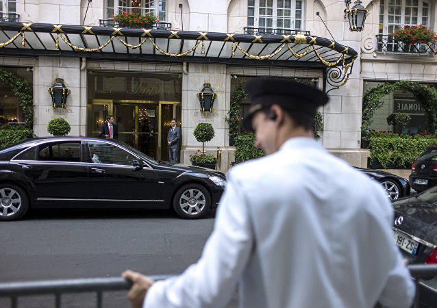 The Hotel Bristol in Paris, where Alexander Perepilichnyy stayed the night before he died