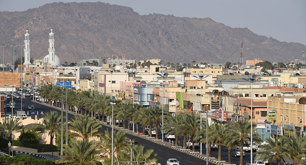 General view of the Saudi border city of Najran. (File)