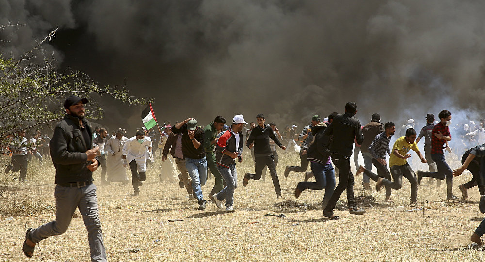 Gazans converge on Israel border amid ongoing rallies
