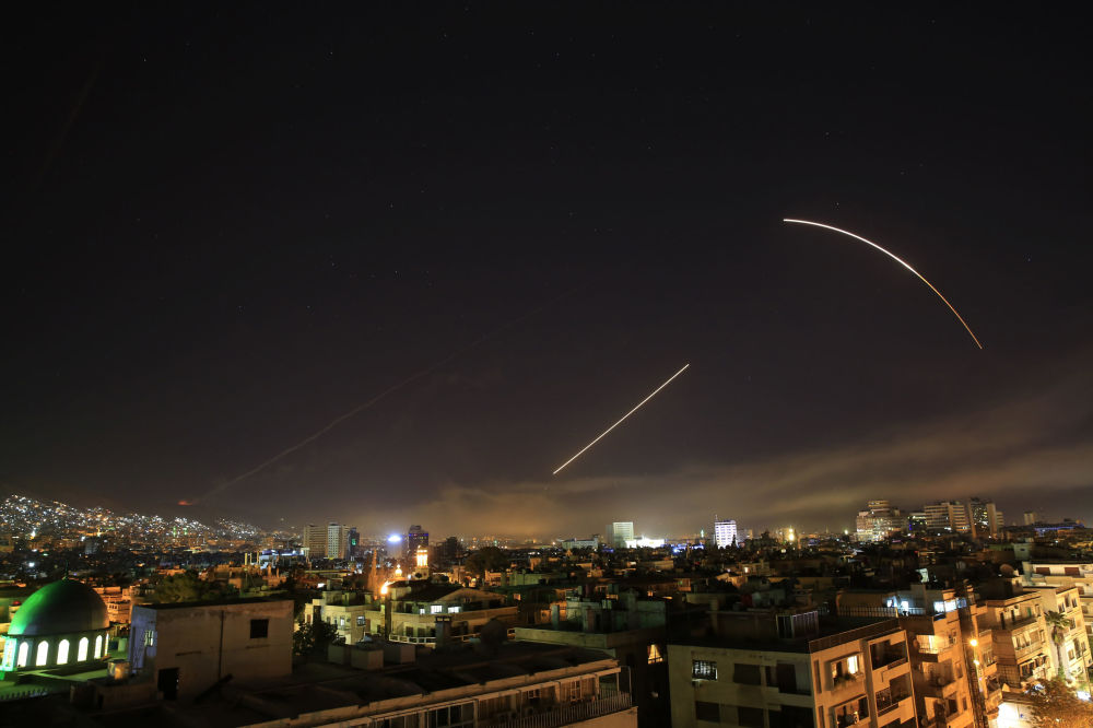 US-Led Overnight Missile Strikes Against Syria